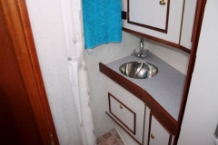 Waschtisch & Dusche